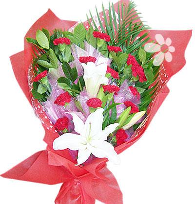 鲜花配送-母爱如山