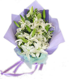 鲜花订购-微笑