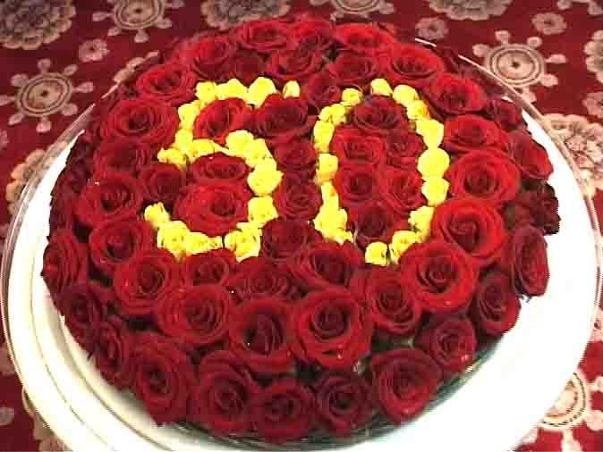 订鲜花-五十大寿