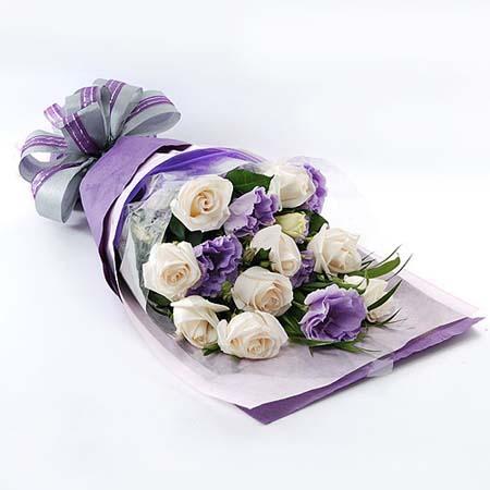 鲜花预订-恋紫圆舞曲