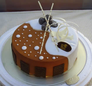 巧克力蛋糕-个性蛋糕