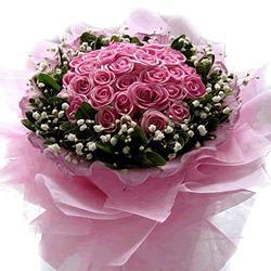 网络订花-粉红回忆