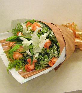 ��地送花-�