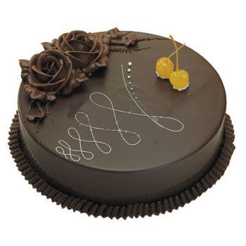 巧克力水果蛋糕-秋意浓