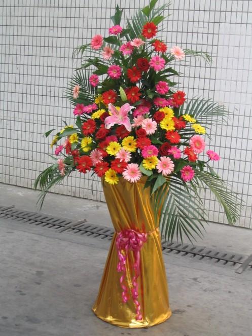 订花送花-开业花蓝4