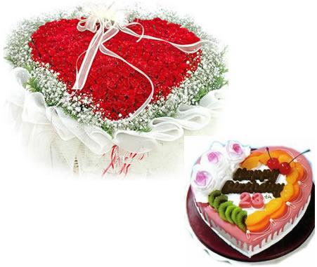 �r花蛋糕套餐-�鄣母��