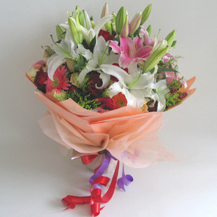 鲜花礼盒-温馨祝福