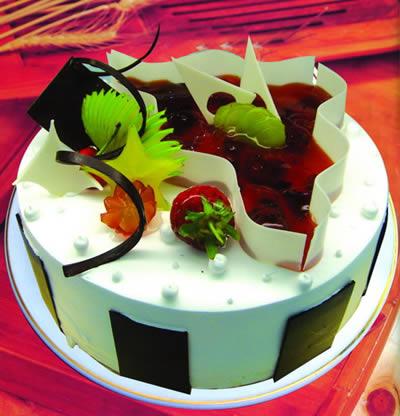 巧克力蛋糕-欢天喜地
