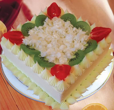 生日鲜花蛋糕-甜蜜时光