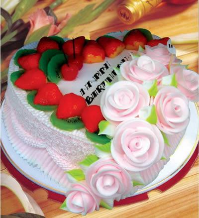 彩虹蛋糕-心有独钟