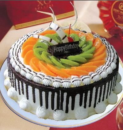 芝士蛋糕-水果巧克力情