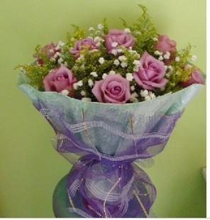 鲜花速递网-紫色爱情