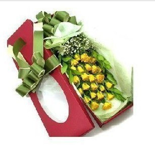 鲜花礼品店-一往情深