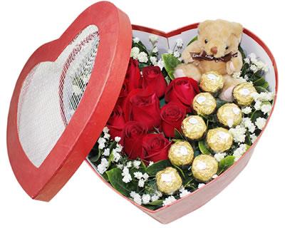 网上订花送花-爱的火花
