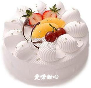 心形蛋糕-爱喏甜心