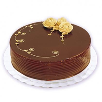 巧克力蛋糕-优雅