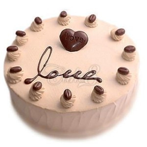 鲜花蛋糕套餐-巧克力甜心
