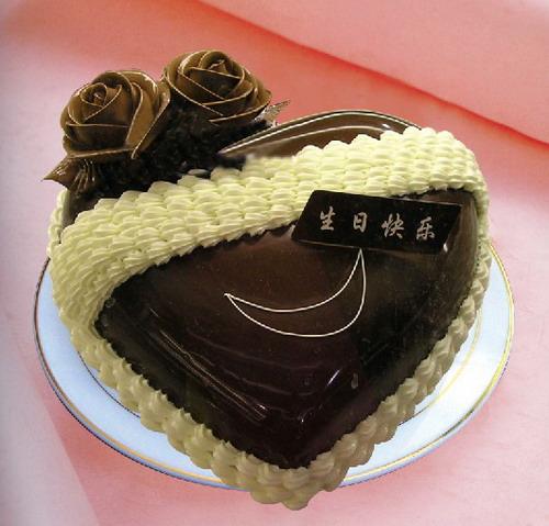 巧克力蛋糕-只为你一笑