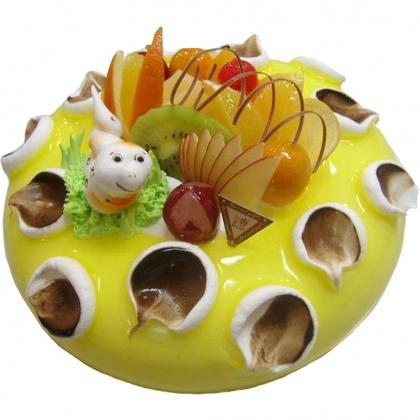 巧克力蛋糕-小蛇