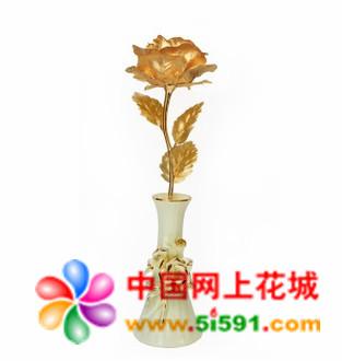bwin娱乐下载网-大号全开金箔玫瑰 浪漫爱情