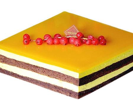 鲜花蛋糕-克莉斯汀 夏忆香芒