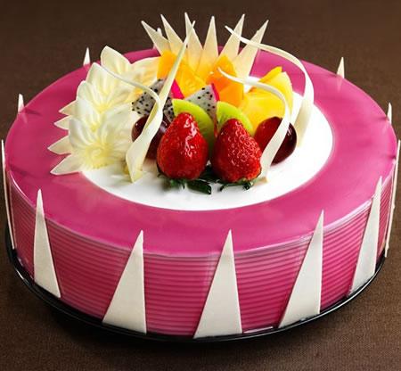 生日蛋糕-克莉斯汀 蓝莓星球