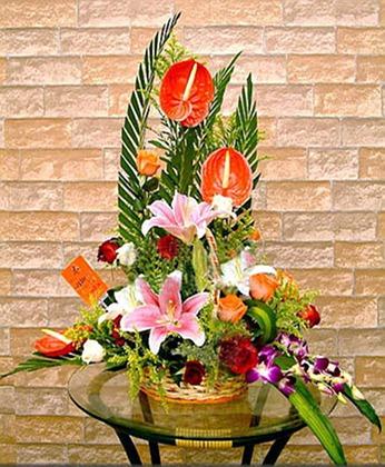 鲜花礼品店-新年快乐