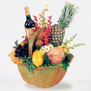 水果花-果篮·一帆风顺