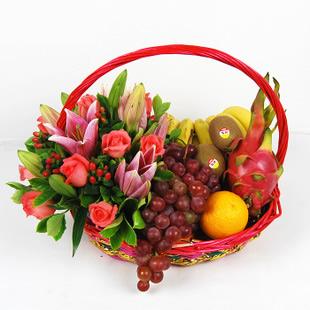 网上花店-果篮・幸福的感觉