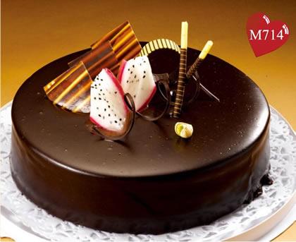 生日鲜花蛋糕-浓情