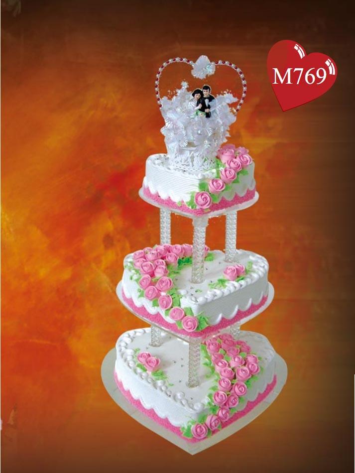 蛋糕鲜花-爱的见证