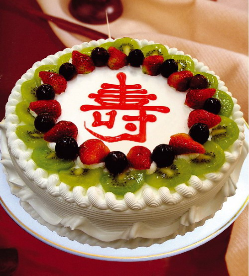 米旗品牌蛋糕-福寿绵长