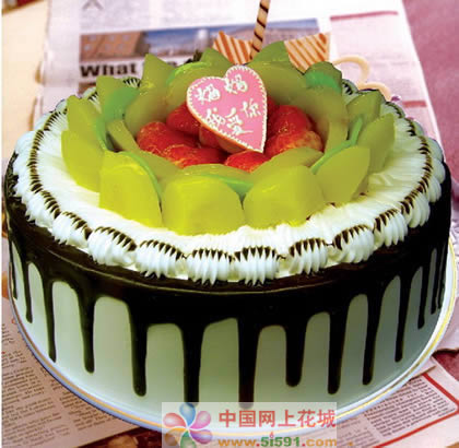 送蛋糕-美��心�`