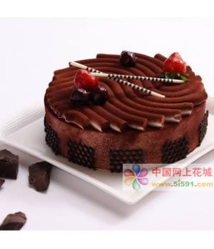 巧克力蛋糕-幸福相爱