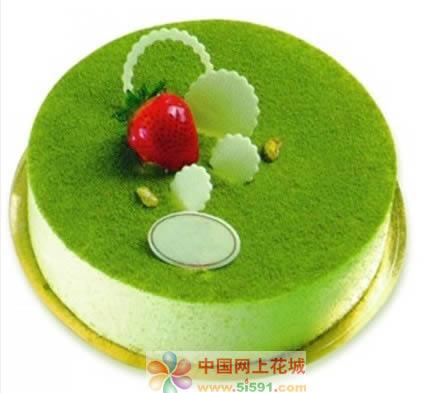 水果蛋糕-绿色烂漫