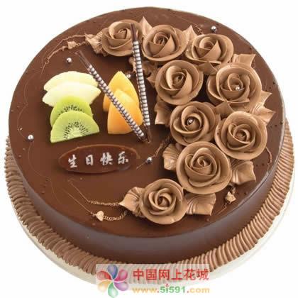 送蛋糕-巧克力情缘