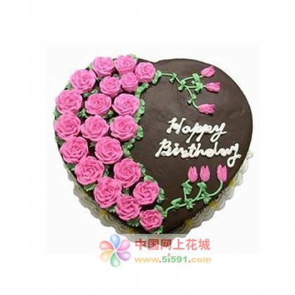 鲜花蛋糕-想你的日子