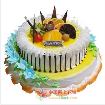 生日鲜花蛋糕-情义无价