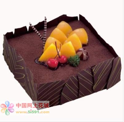 生日鲜花蛋糕-意式情浓