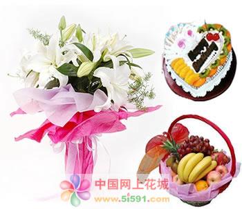 鲜花网站-爱的手势