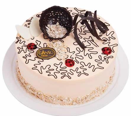 庆典蛋糕-元祖蛋糕-黄金燕麦香芋