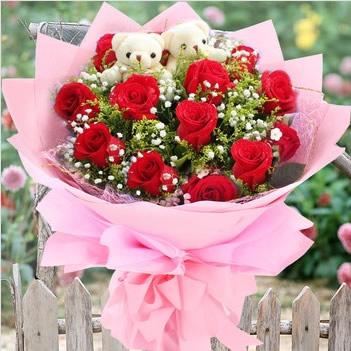 鲜花速递网-坚定的爱