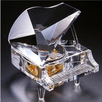 花店-十八音水晶钢琴音乐盒