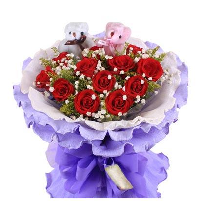 鲜花礼品店-爱的魔力