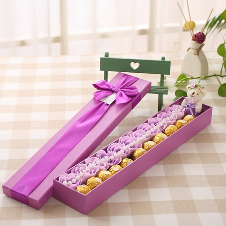 订花服务-甜蜜祝福-紫色
