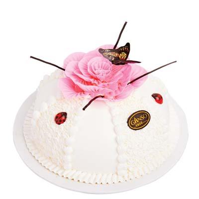 蛋糕送货上门-元祖蛋糕-蝶恋花景