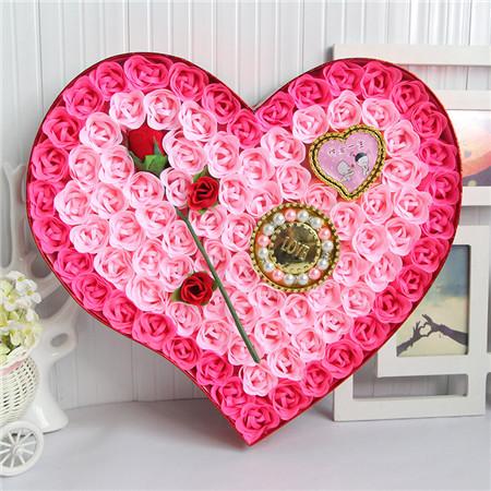 送花-香皂花-92朵一枝花手链