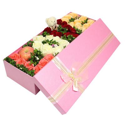鲜花购买-LOVE礼盒