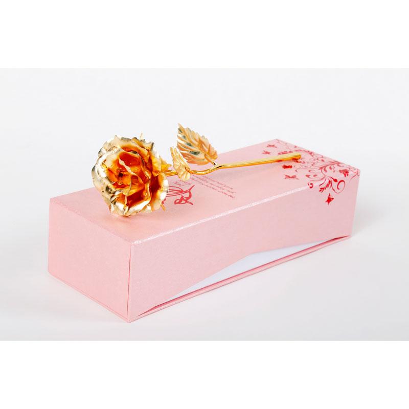 花店-中�全�_金箔玫瑰