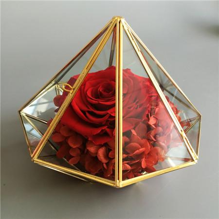 鲜花快递网-钻石款红色